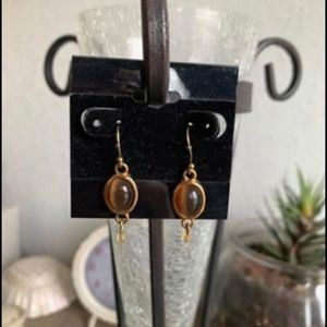 🛍🤎 NEW!  Lia Sophia Tiger Eye Earrings